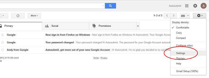 6. Aktifkan POP3 Pada Akun Gmail Anda