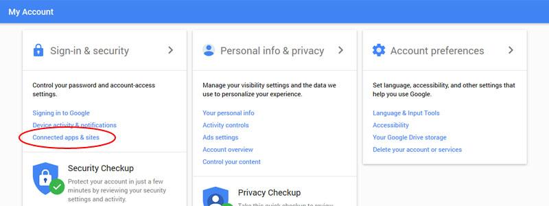 7. Aktifkan Beberapa Fitur Keamanan dari Google