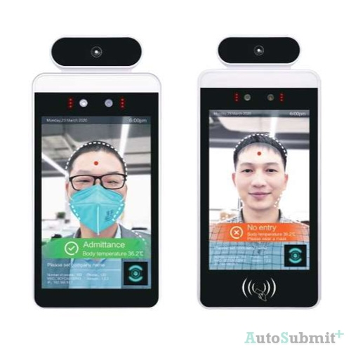 Automatic Door dan Flap Barrier dengan Sensor Suhu Tubuh & Face Detection